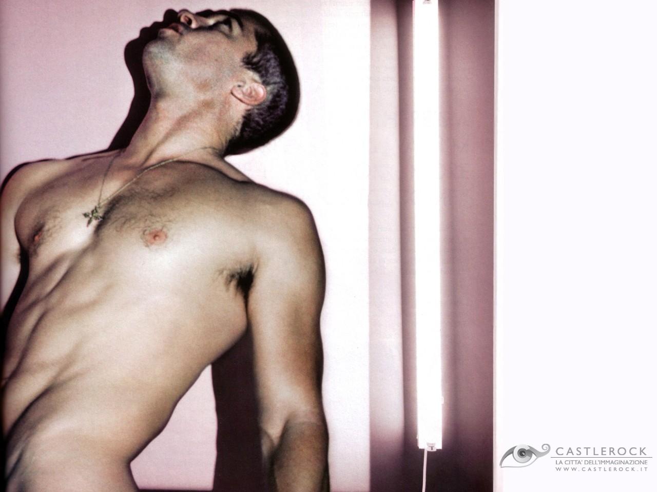 Wallpaper sexy di Brad Pitt