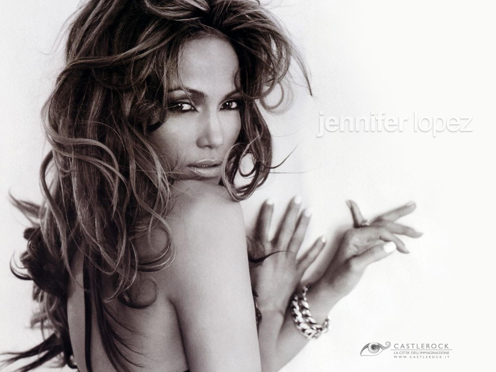 Wallpaper di una sexy Jennifer Lopez
