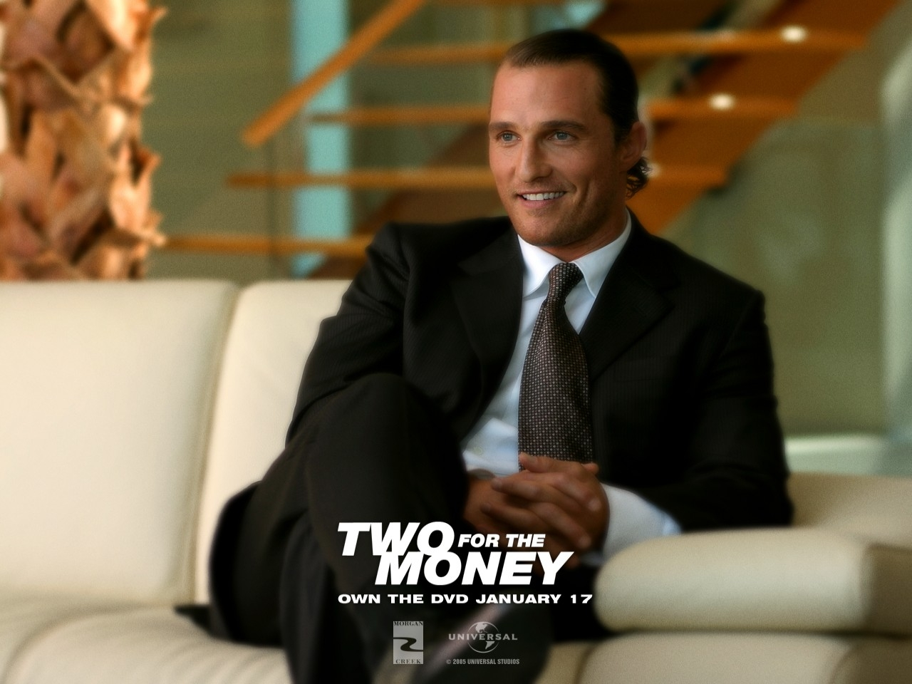Wallpaper del film Rischio a due (Two for the Money)