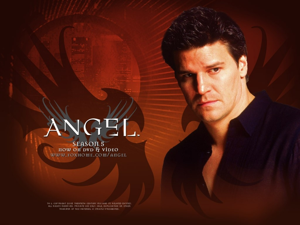 Wallpaper della serie Angel con David Boreanaz