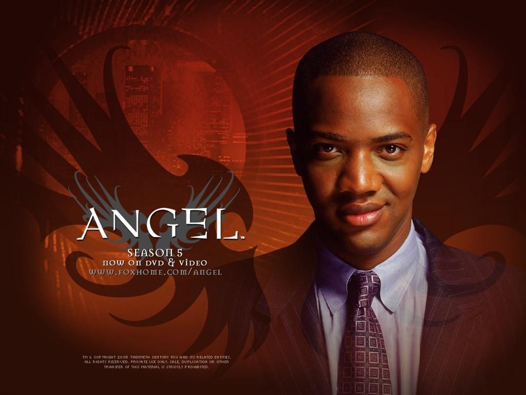 Wallpaper della serie Angel con J. August Richards