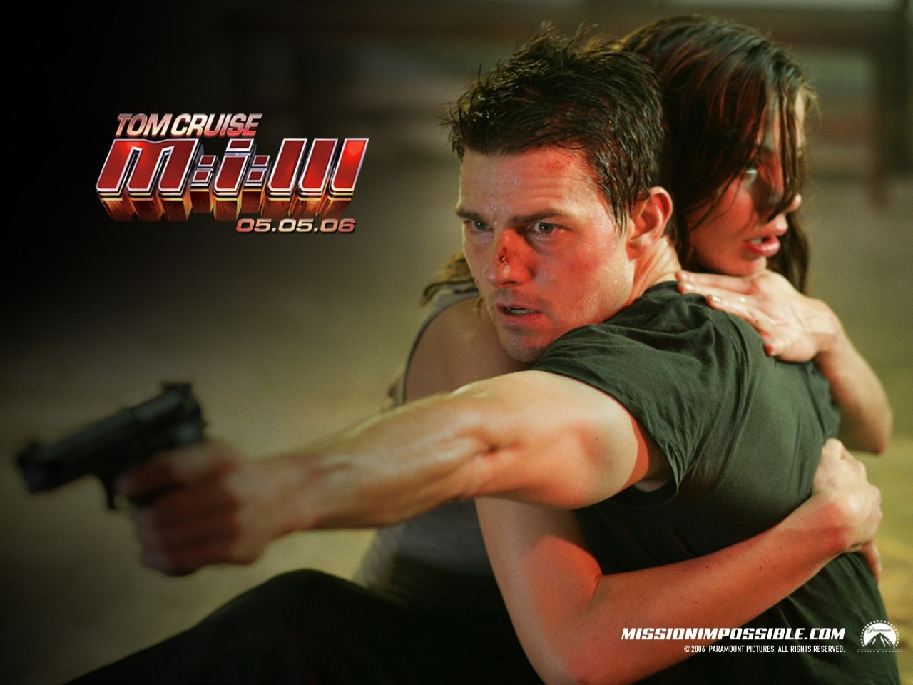 Wallpaper dell'action movie Mission: Impossible III con Tom Cruise