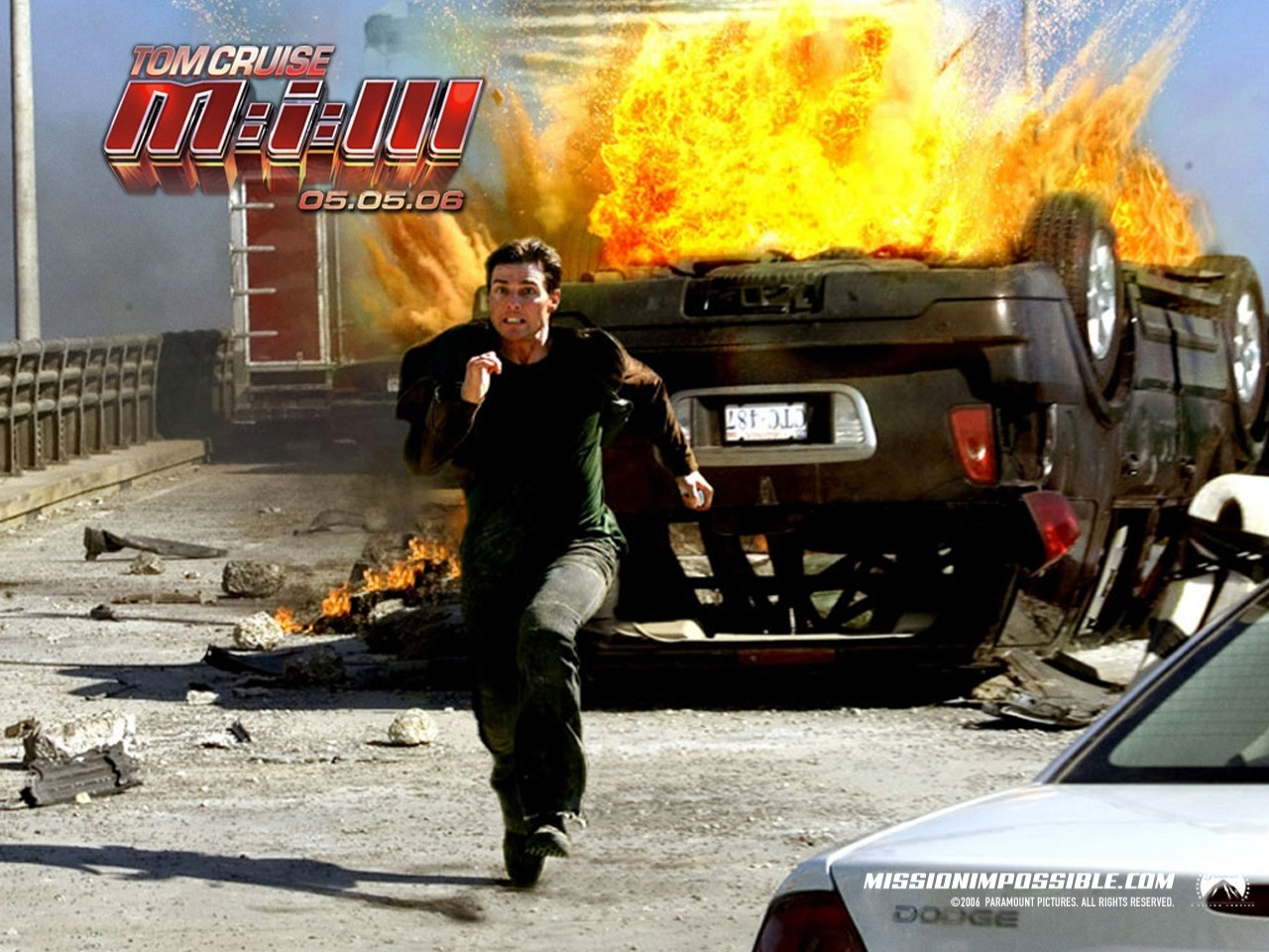 Wallpaper del film Mission: Impossible III con Tom Cruise