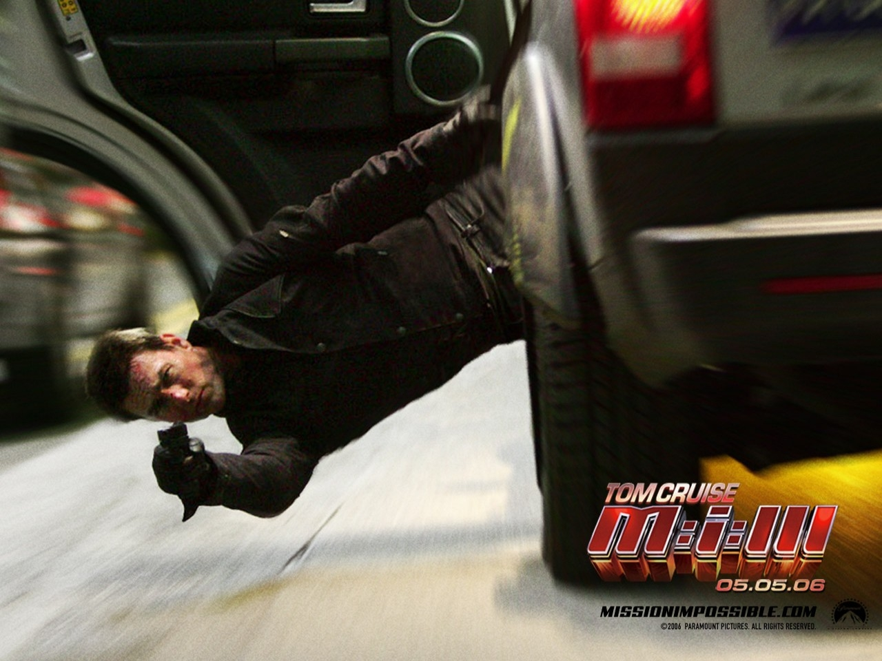 Wallpaper del film Mission: Impossible III, terzo capitolo del franchise ispirato all'omonima serie tv