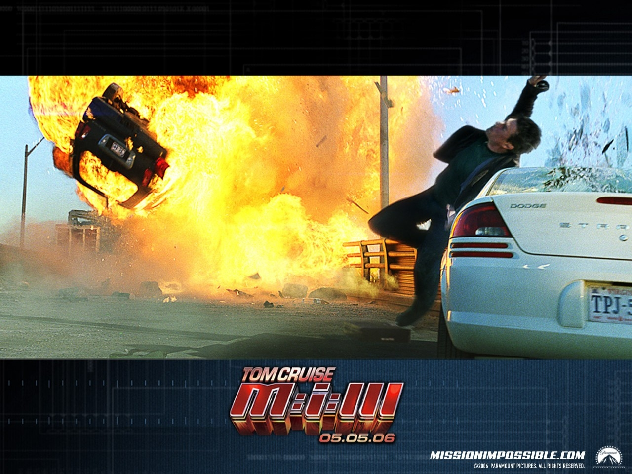 Wallpaper del film d'azione Mission: Impossible III