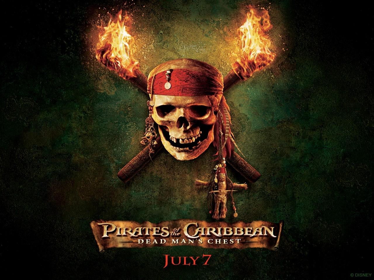 Wallpaper del campione d'incassi Pirati dei Caraibi - La maledizione del forziere fantasma