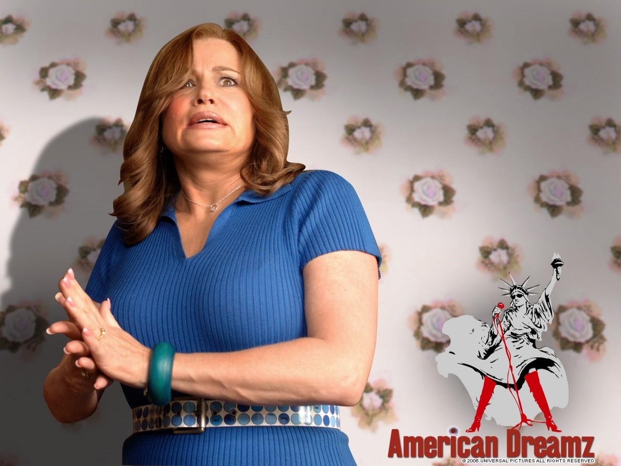 Wallpaper del film American Dreamz con Jennifer Coolidge