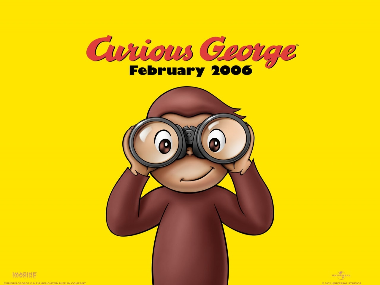 Un wallpaper del film Curioso come George