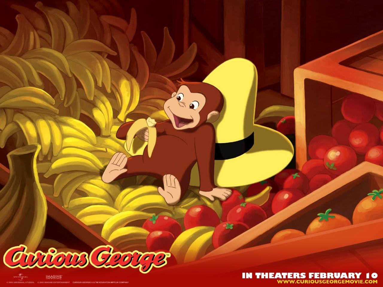 Wallpaper del film d'animazione Curioso come George