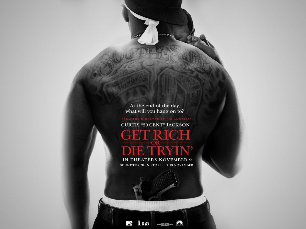 Wallpaper del film Get Rich or Die Tryin'