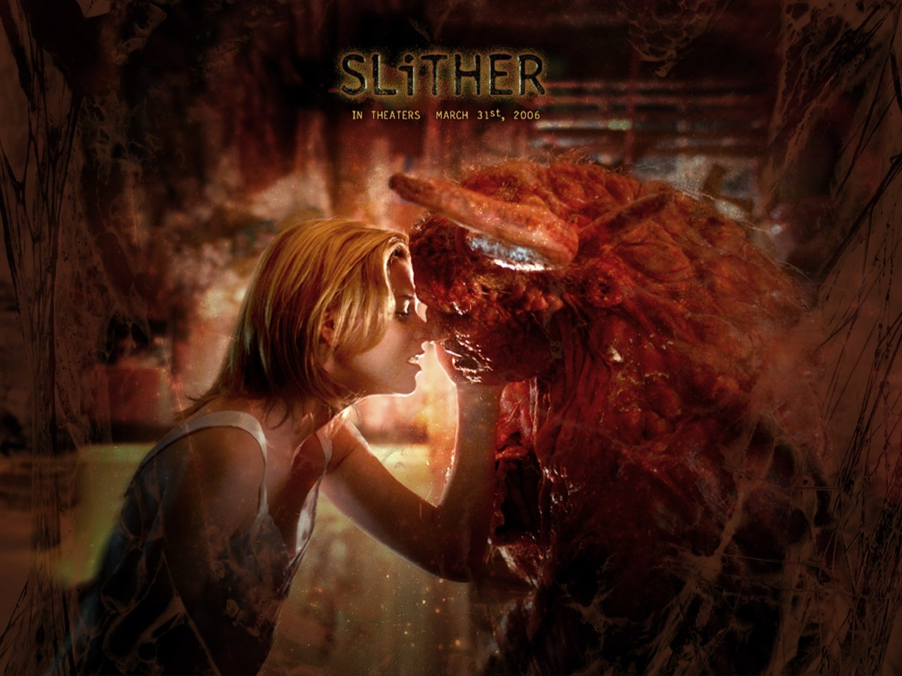Wallpaper del film Slither