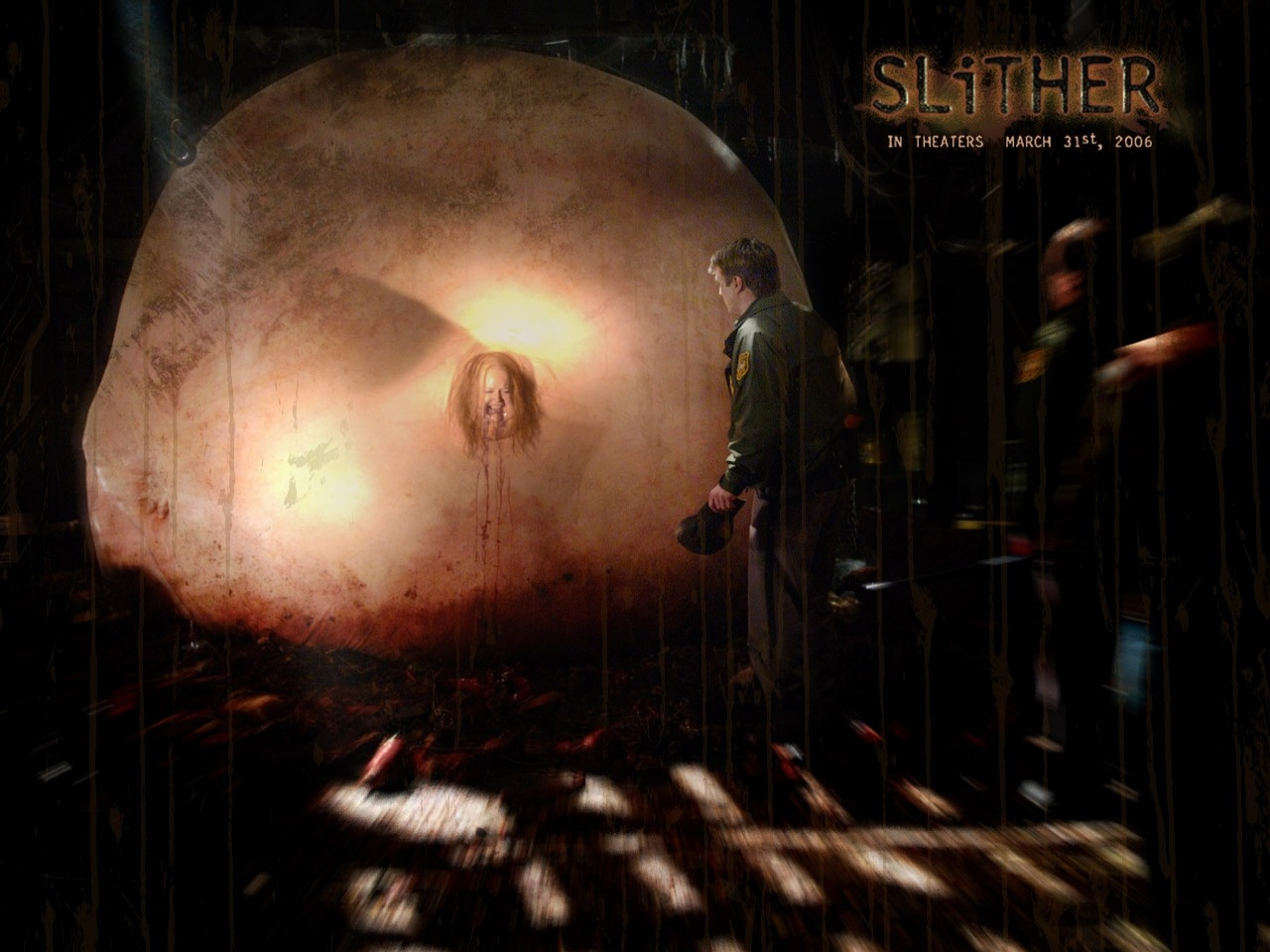 Wallpaper del film Slither
