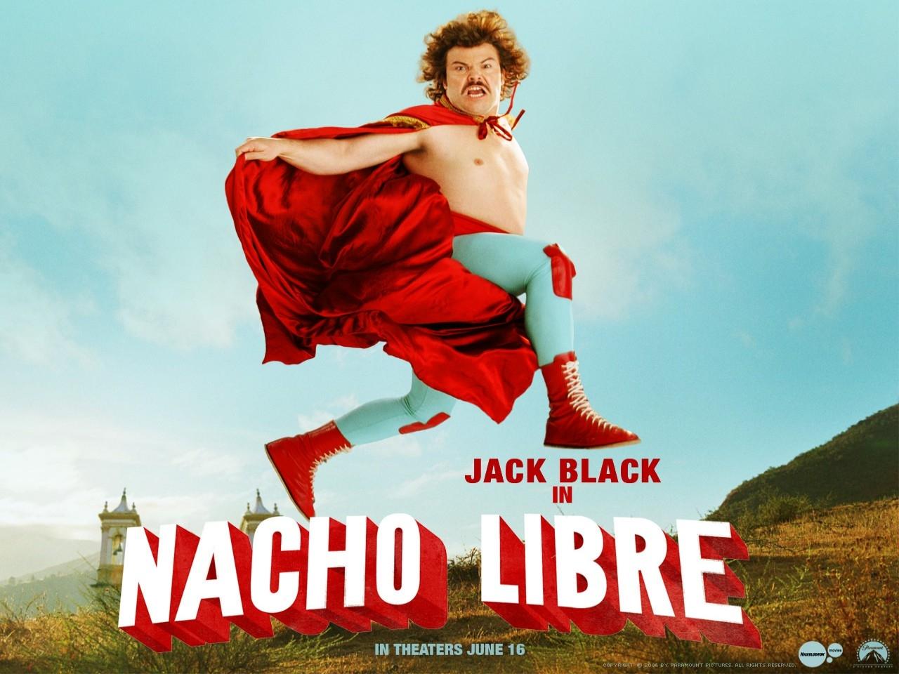 Wallpaper del film Super Nacho con Jack Black