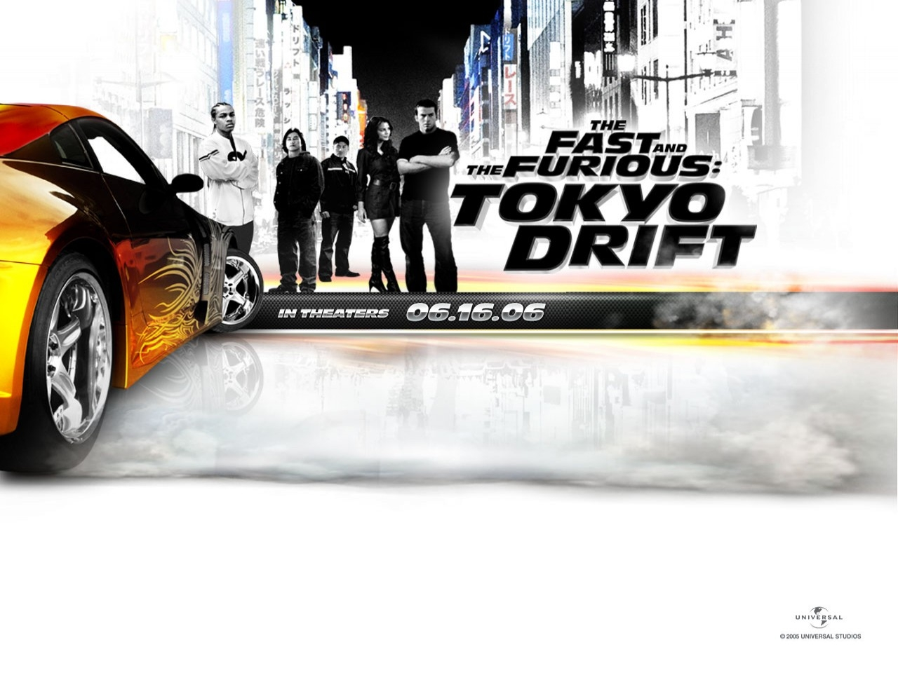 Wallpaper del film The Fast and the Furious: Tokyo Drift