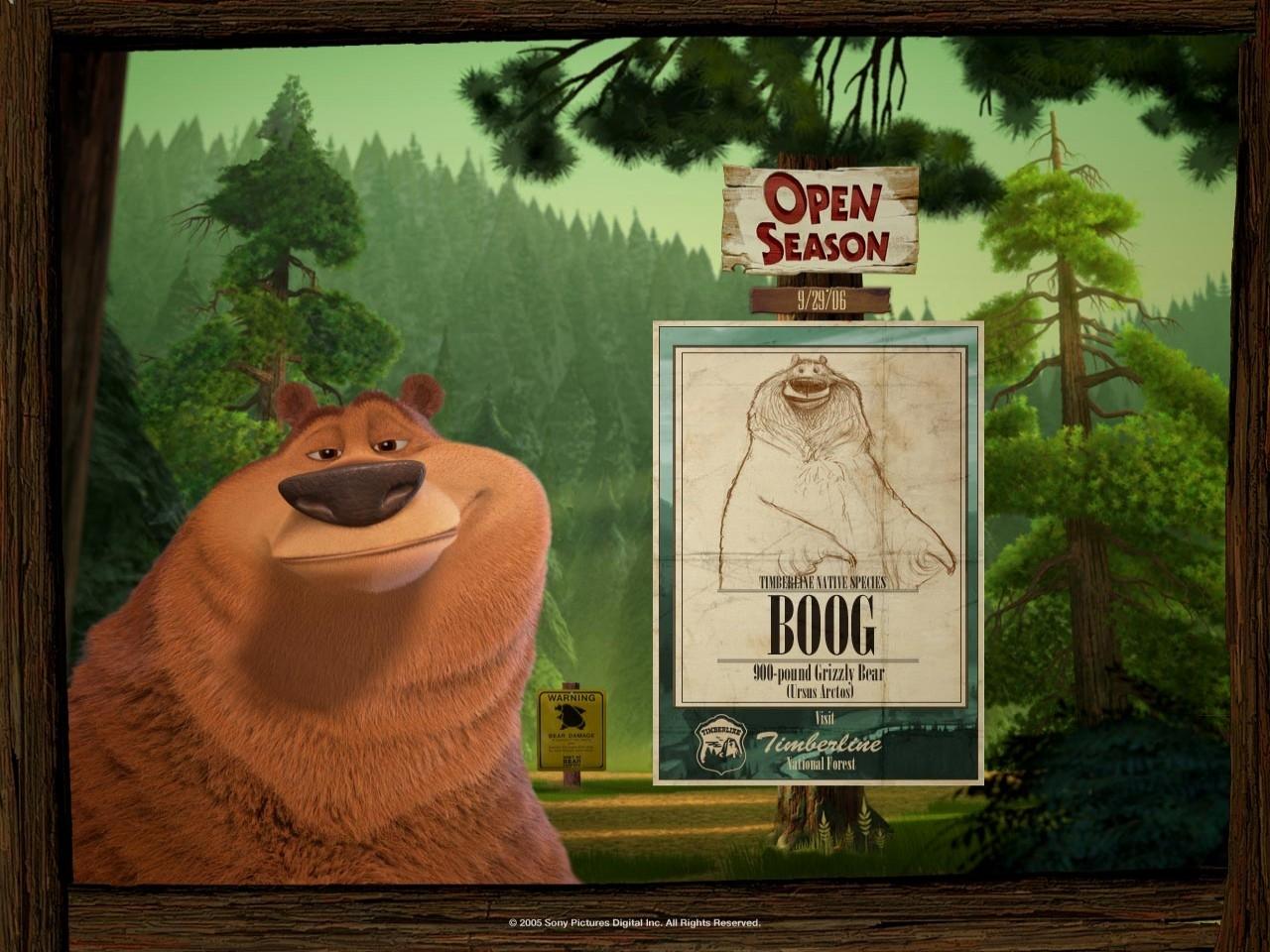 Wallpaper del film Boog e Elliot a caccia di amici