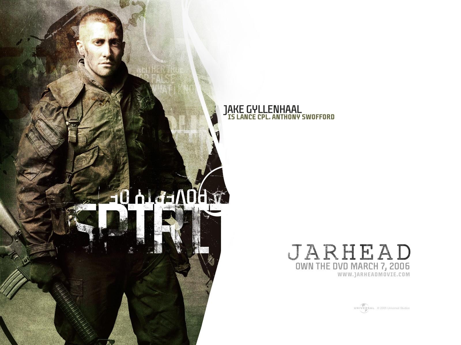 Wallpaper del film Jarhead con Jake Gyllenhaal