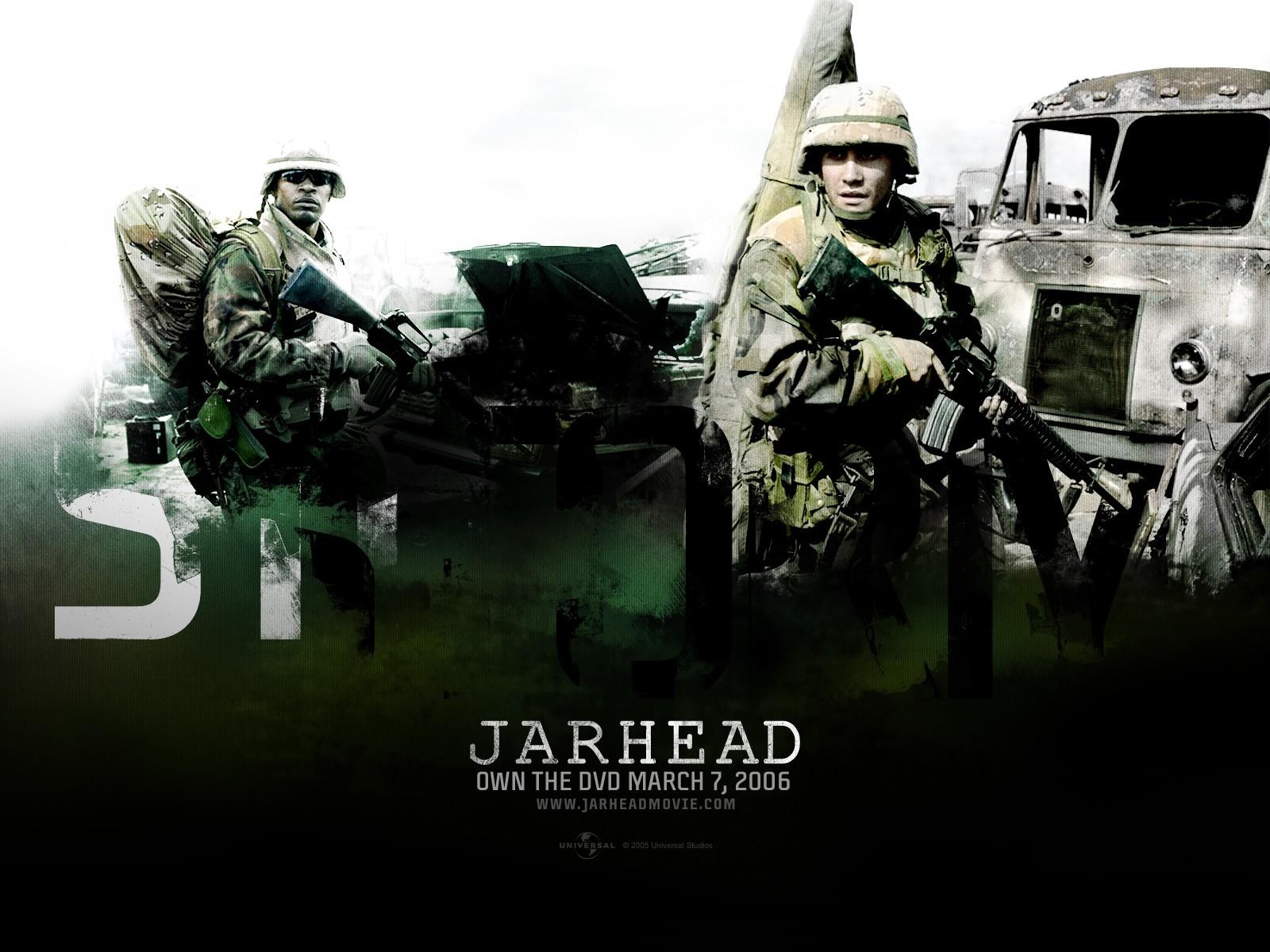 Gyllenhaal in un wallpaper del dramma Jarhead