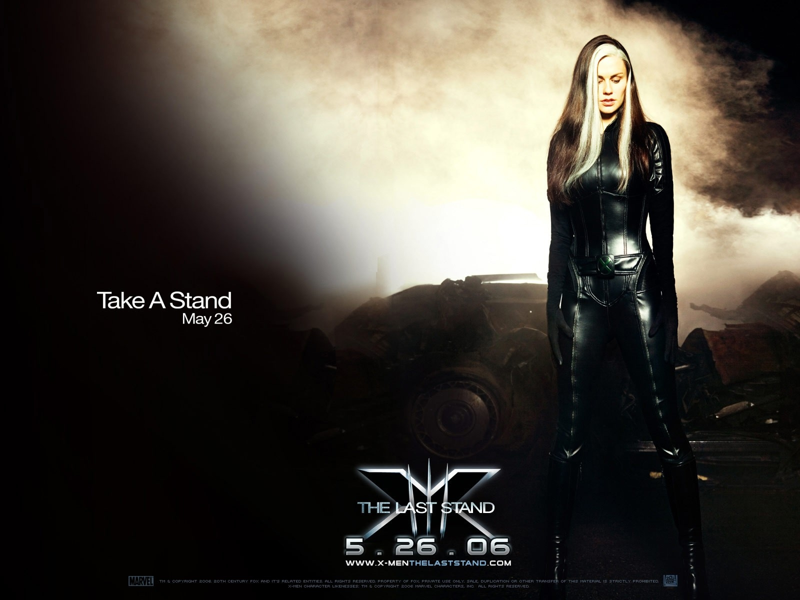 Wallpaper del film X-Men: Conflitto Finale con Anna Paquin