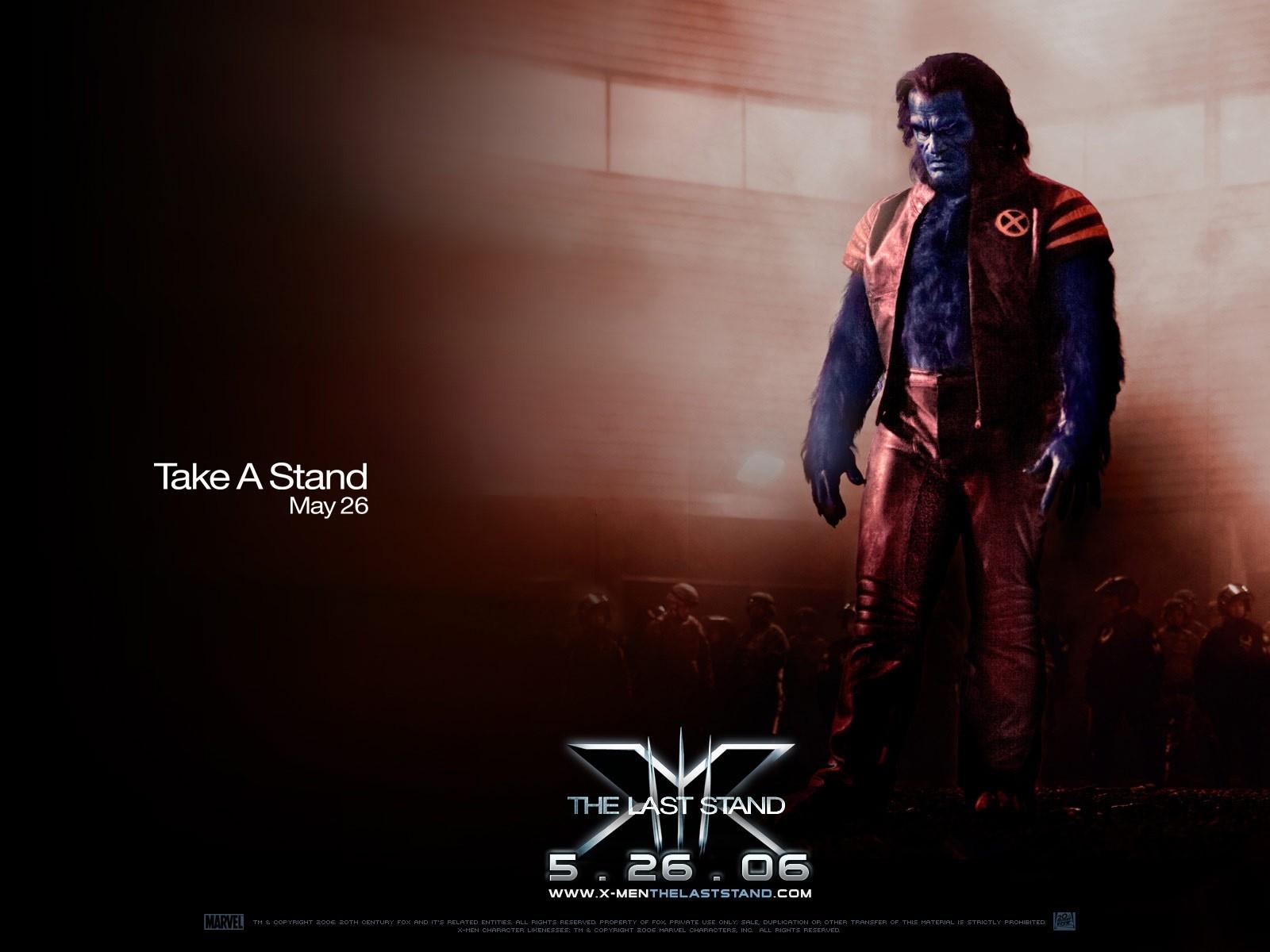 Wallpaper del film X-Men: Conflitto Finale con Kelsey Grammer