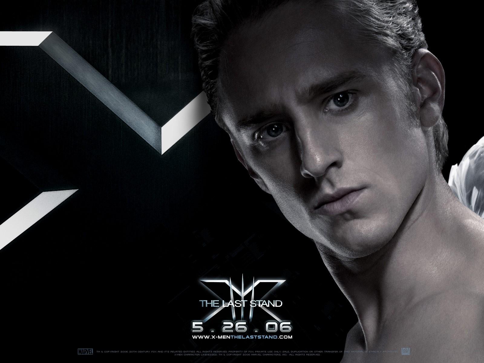 Wallpaper del film X-Men: Conflitto Finale con un primo piano di Ben Foster