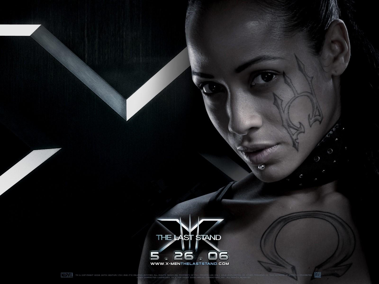 Wallpaper del film X-Men: Conflitto Finale con Dania Ramirez