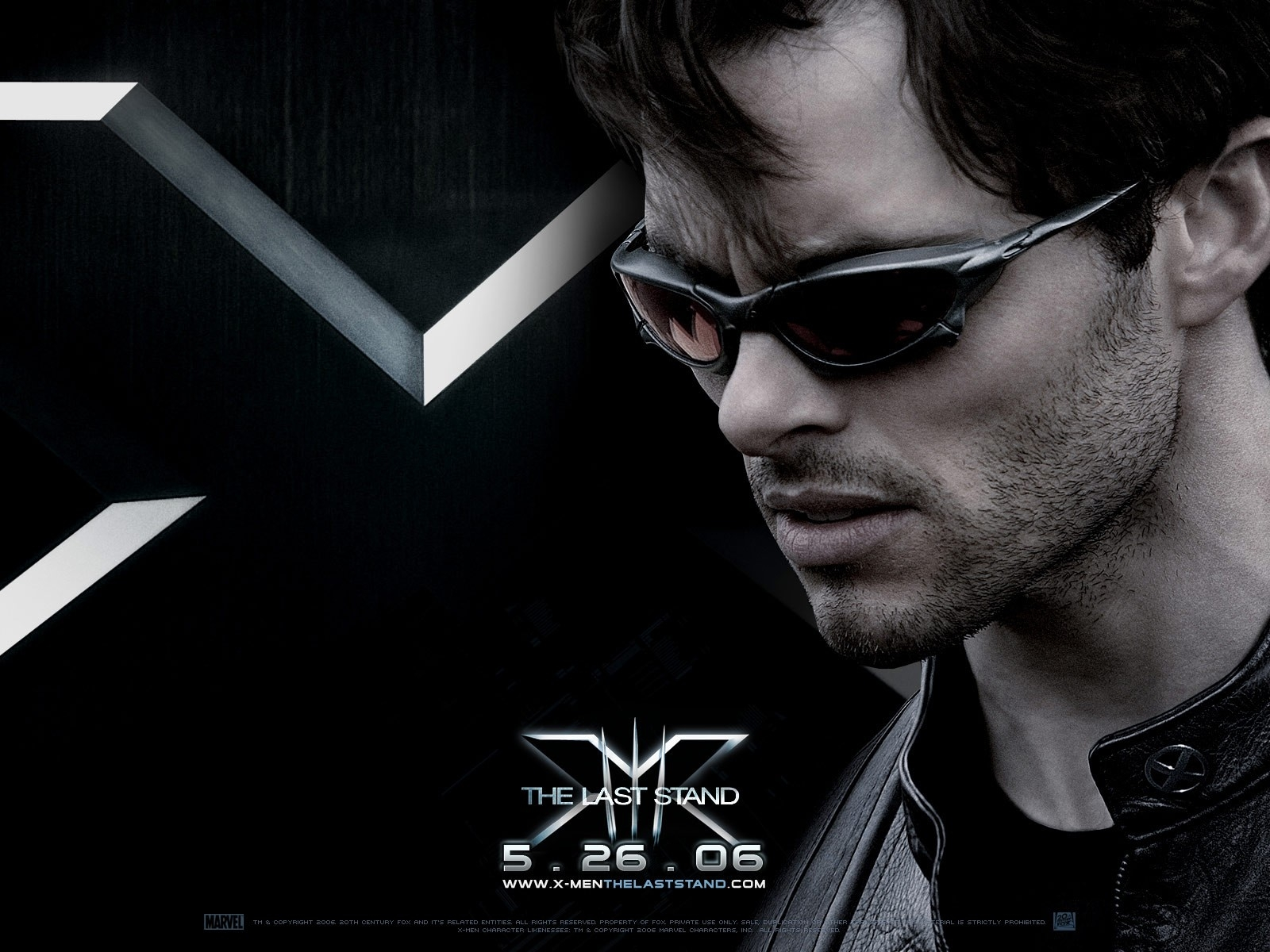 Wallpaper del film X-Men: Conflitto Finale con James Marsden