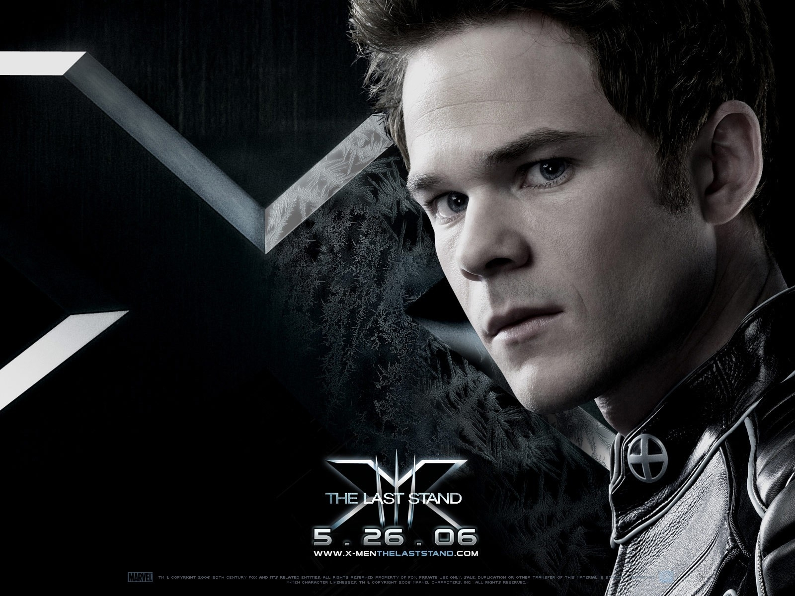 Wallpaper del film X-Men: Conflitto Finale con Shawn Ashmore