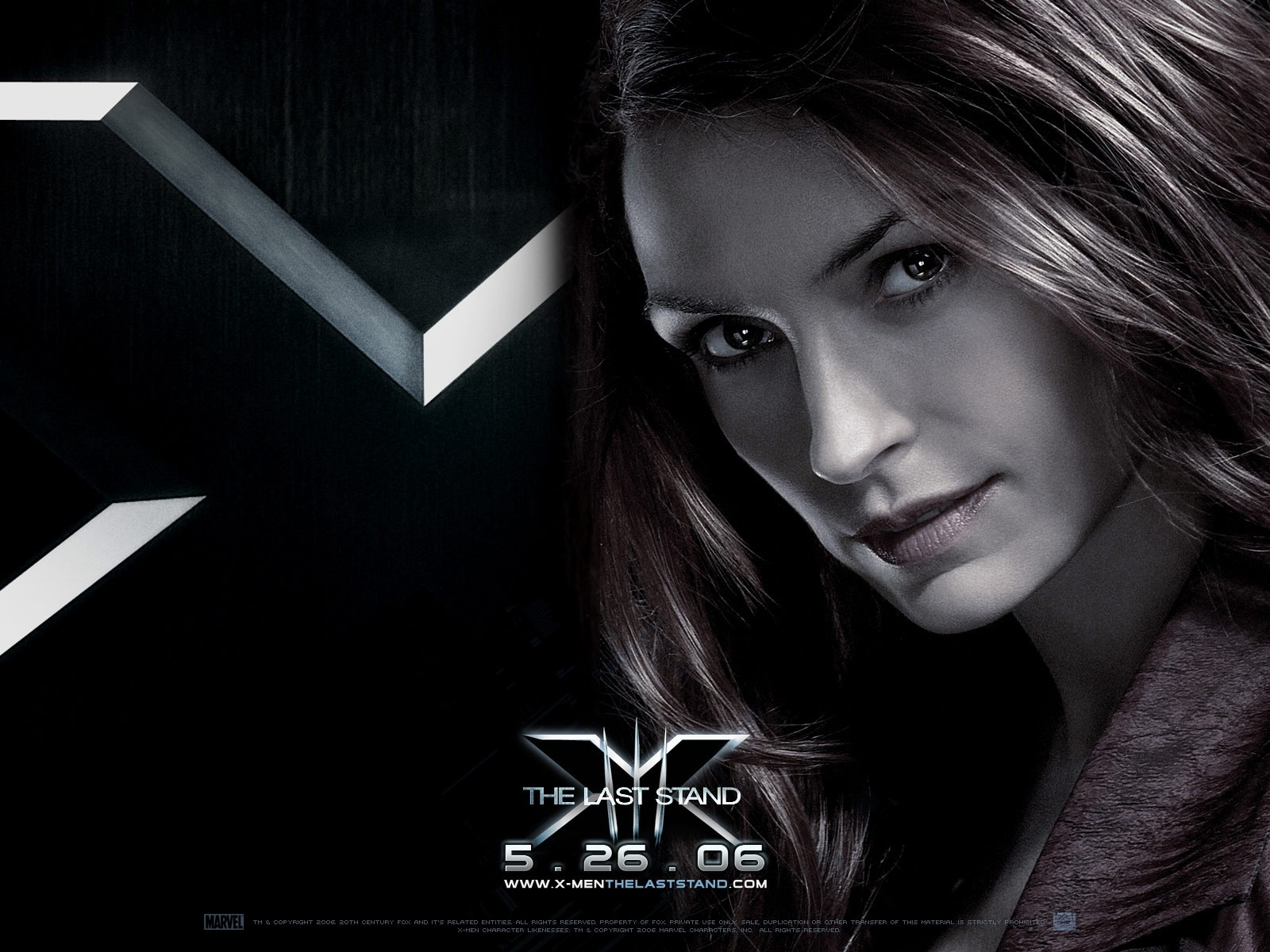 Wallpaper del film X-Men: Conflitto Finale con la Janssen