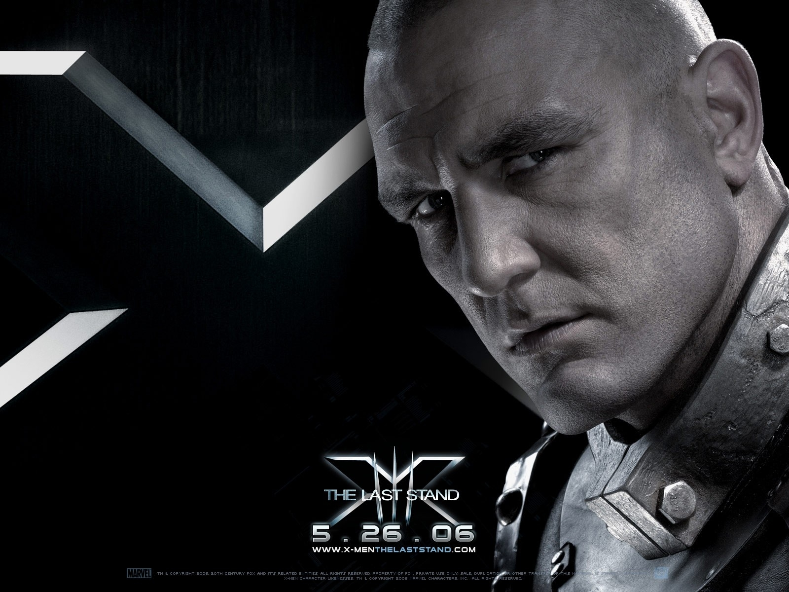 Wallpaper del film X-Men: Conflitto Finale con Vinnie Jones