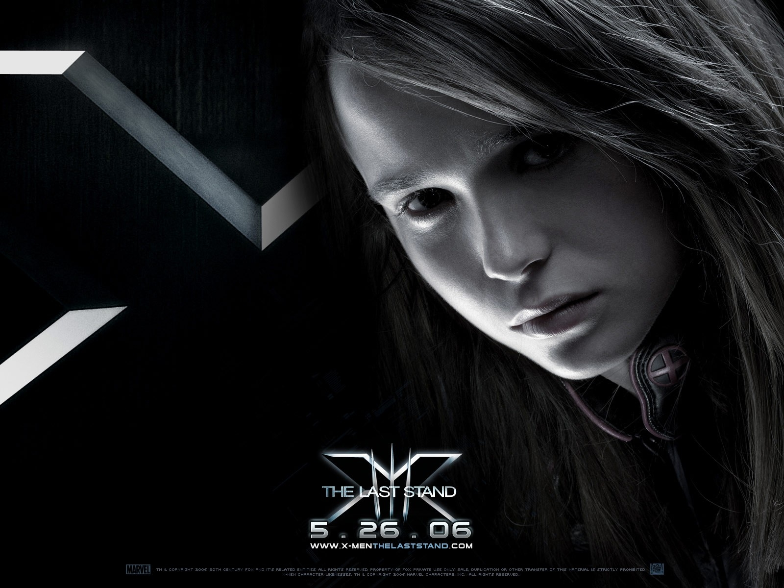 Wallpaper del film X-Men: Conflitto Finale con Ellen Page