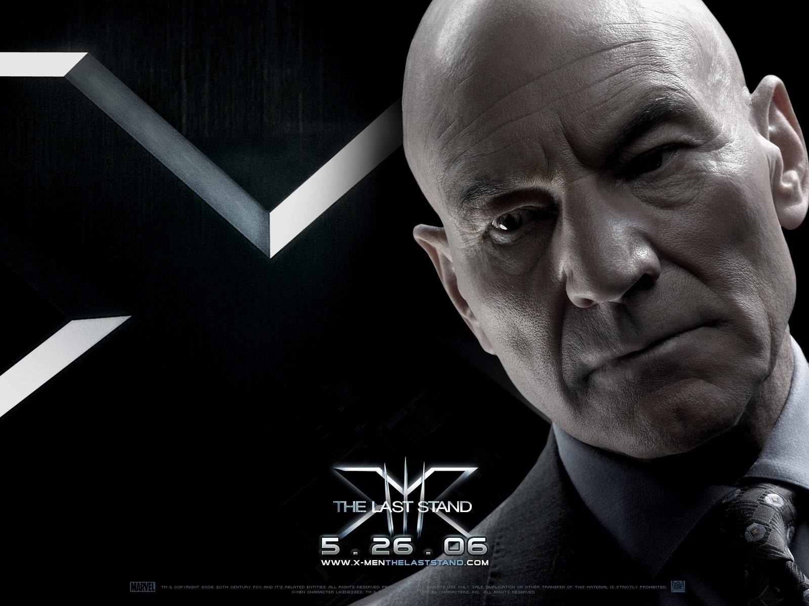 Wallpaper del film X-Men: Conflitto Finale con patrick Stewart