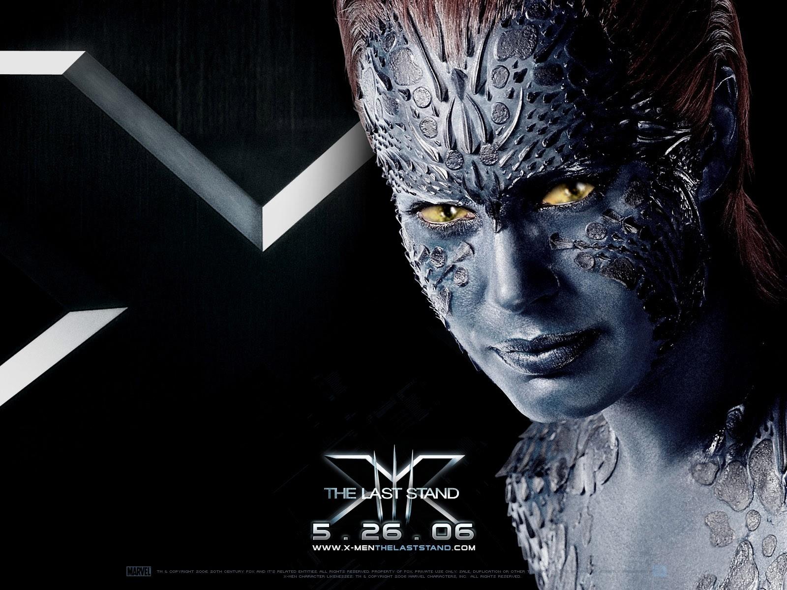 Wallpaper del film X-Men: Conflitto Finale con Rebecca Romjin