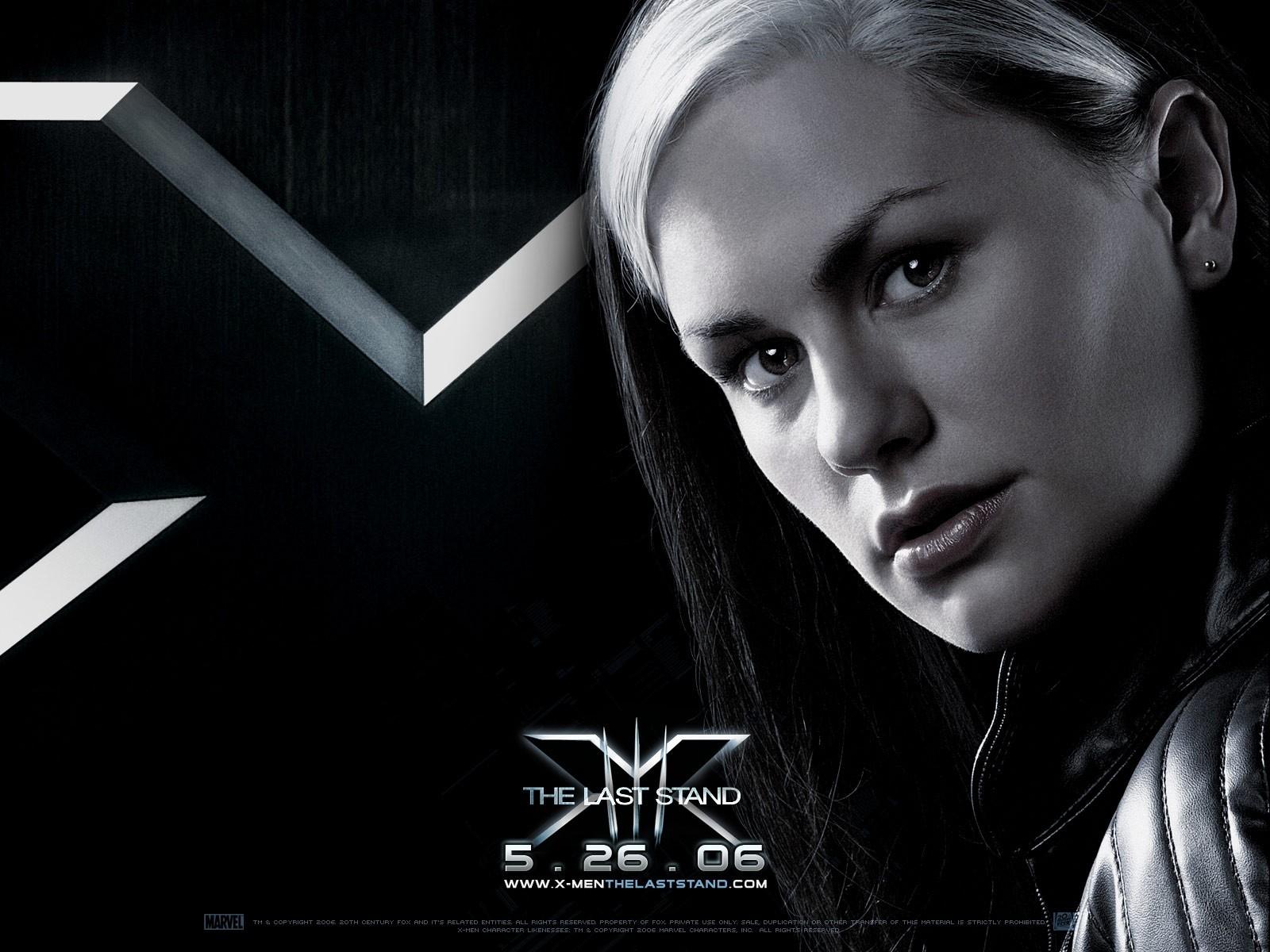 Wallpaper del film X-Men: Conflitto Finale con l'attrice Anna Paquin