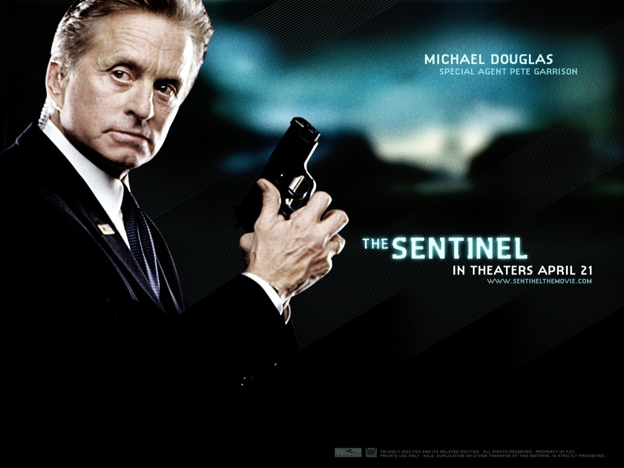 Wallpaper del film The Sentinel con Michale Douglas