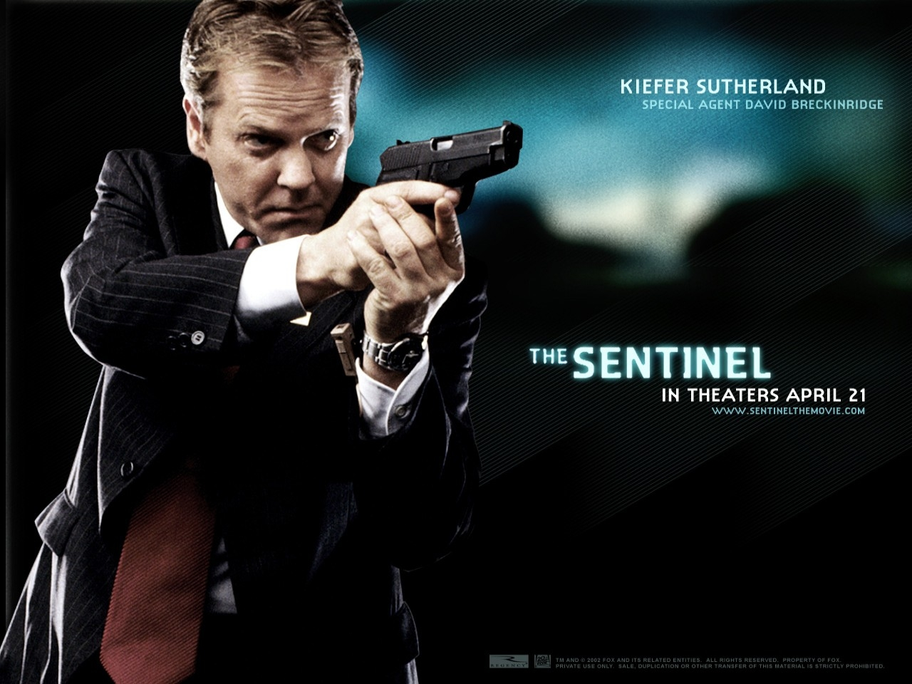Wallpaper del film The Sentinel con Kiefer Sutherland