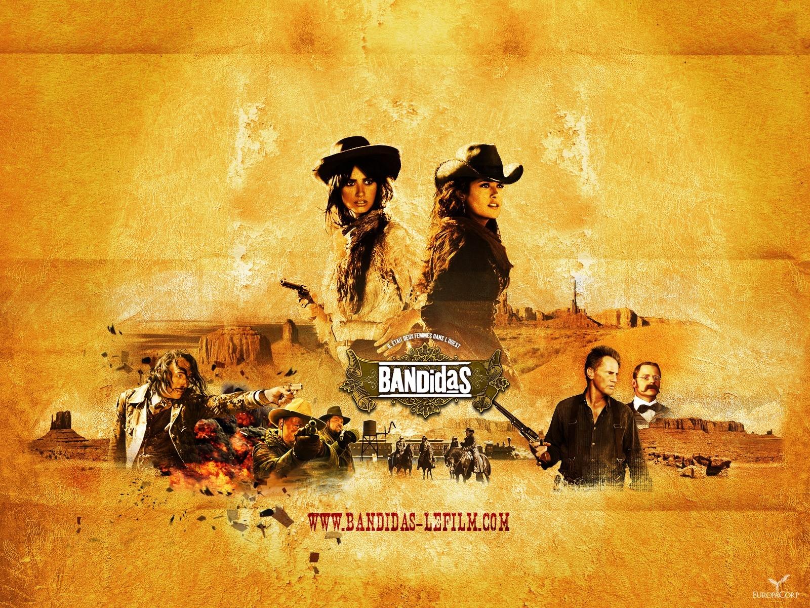 Wallpaper del film Bandidas con Penelope Cruz