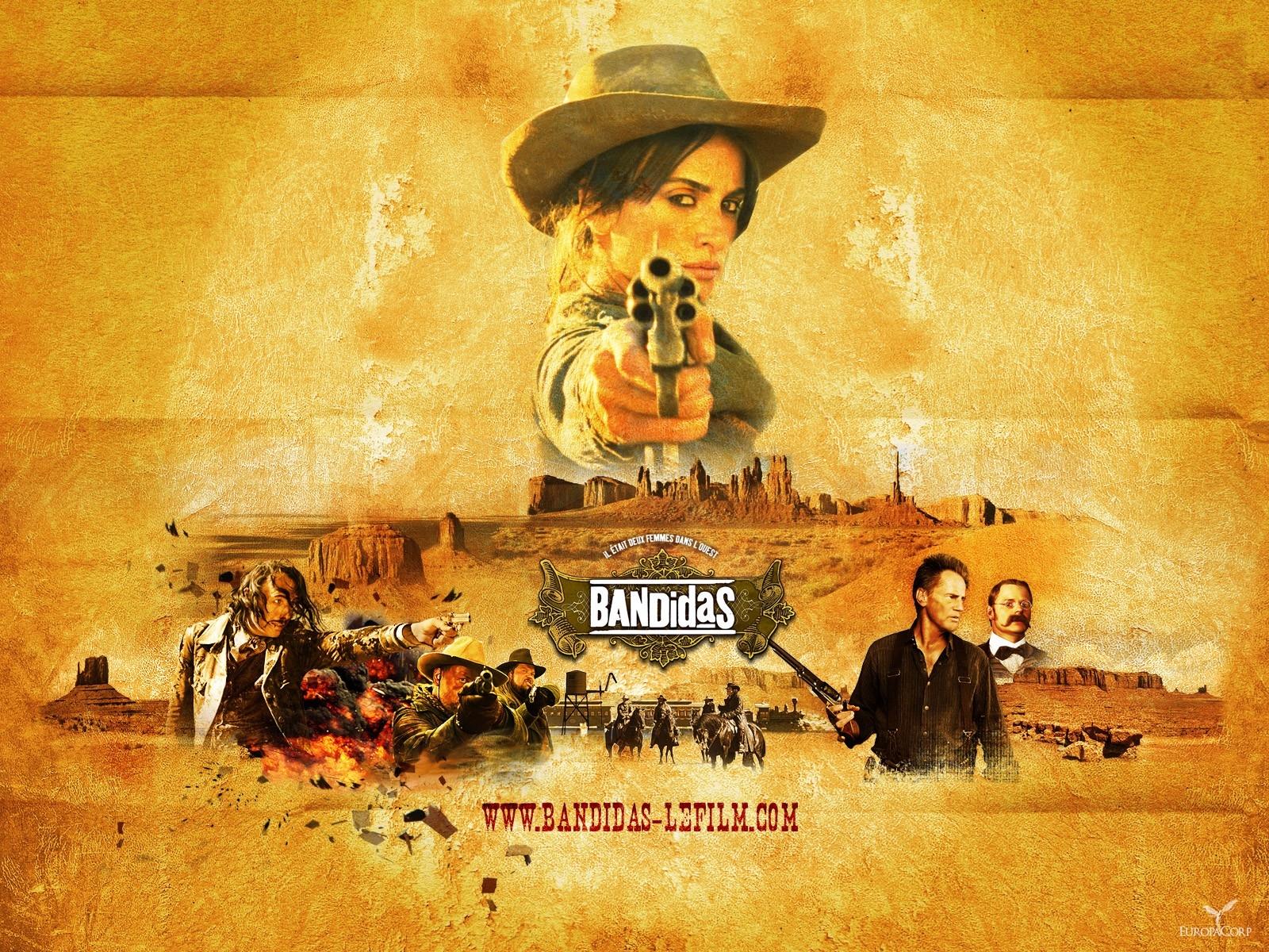 Wallpaper del film Bandidas con la Cruz