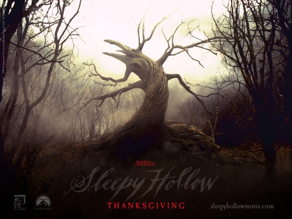 Un suggestivo sfondo per il desktop del film Il mistero di Sleepy Hollow