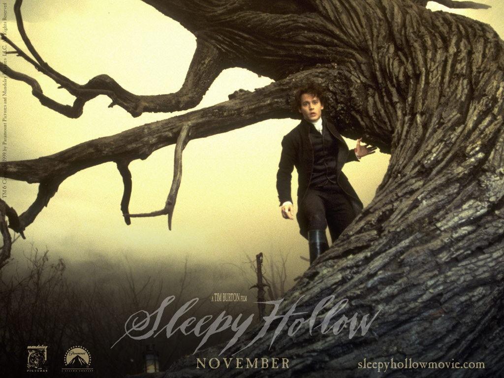 Wallpaper Il mistero di Sleepy Hollow; Johnny Depp