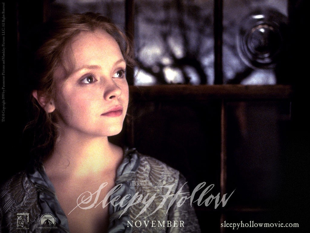 Wallpaper di Christina Ricci nel film Il mistero di Sleepy Hollow