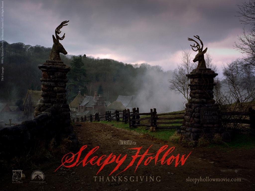 Wallpaper del film Il mistero di Sleepy Hollow diretto d Tim Burton