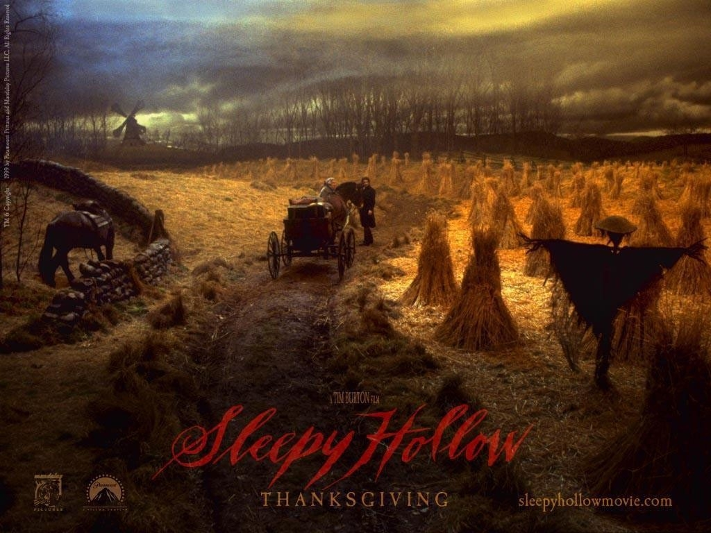 Wallpaper del film Il mistero di Sleepy Hollow di Tim Burton