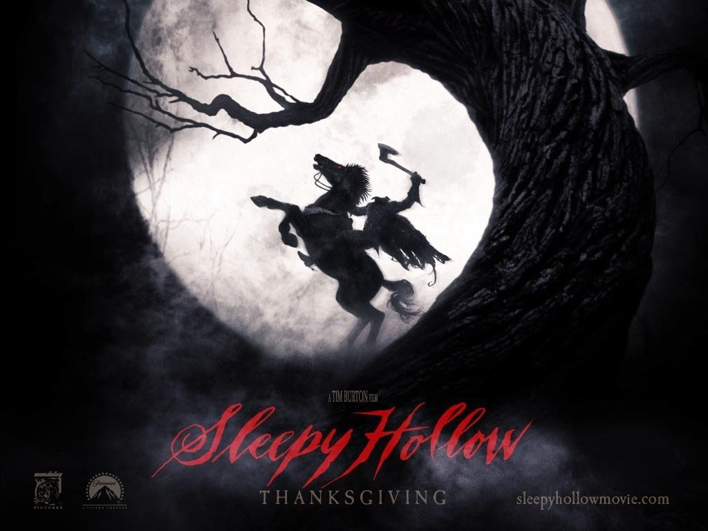 Un suggestivo wallpaper del film Il mistero di Sleepy Hollow