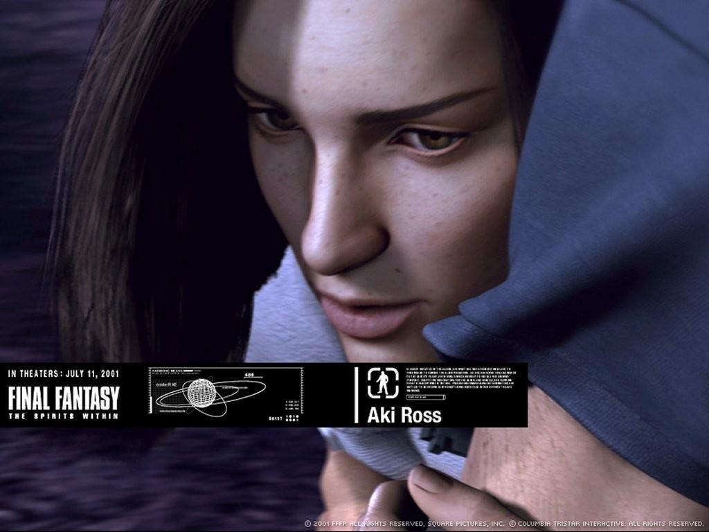 Wallpaper: uno dei protagonisti del film Final Fantasy