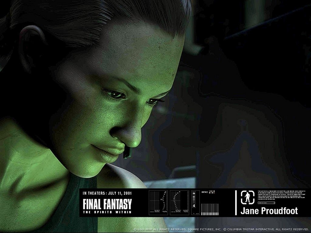 Wallpaper del film Final Fantasy, del 2001