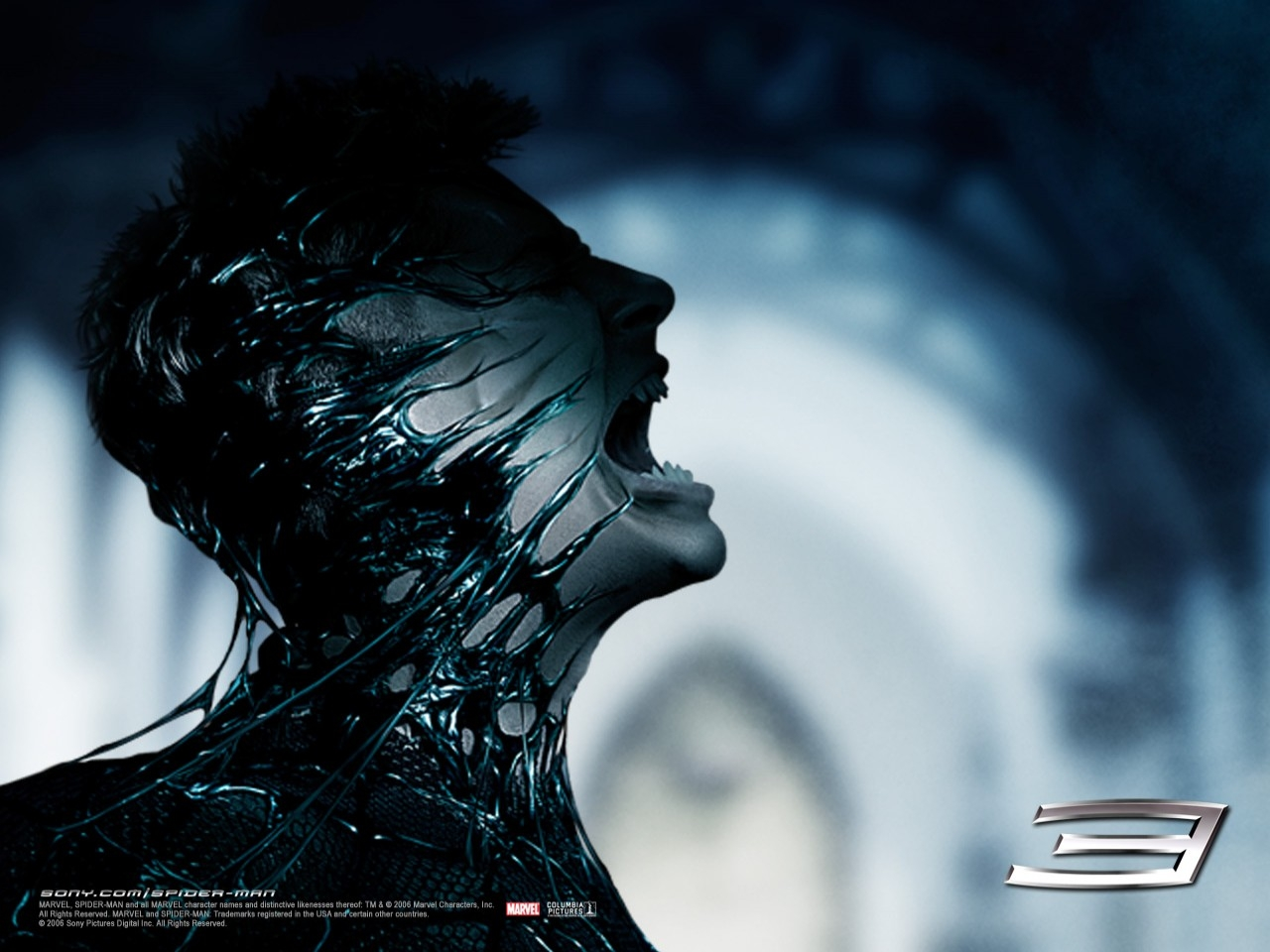 Un wallpaper del film Spider-Man 3