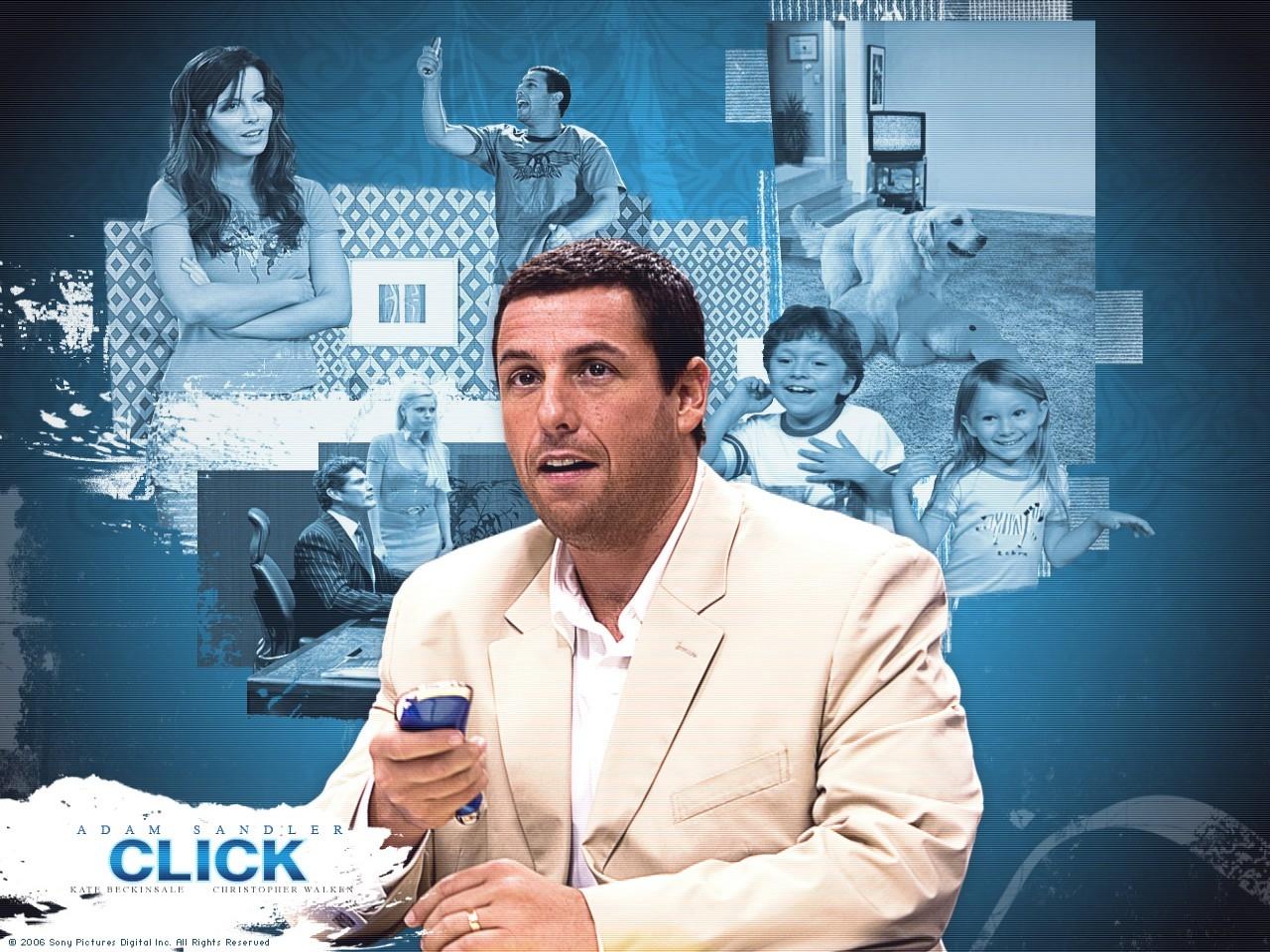 Wallpaper del film Cambia la tua vita con un click con Adam Sandler