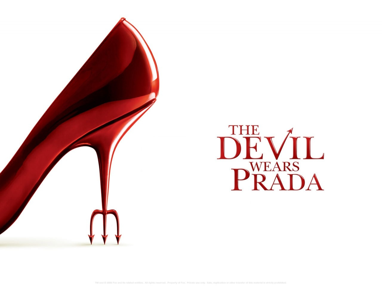 Wallpaper del film Il diavolo veste Prada