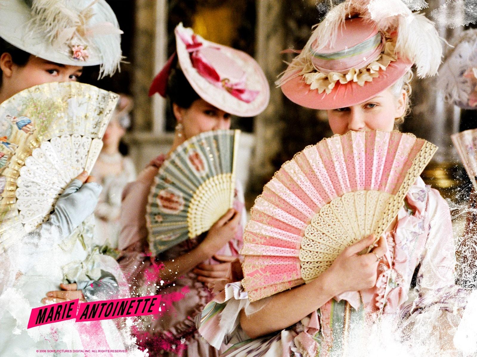 Wallpaper del film Marie Antoinette con Kirsten Dunst