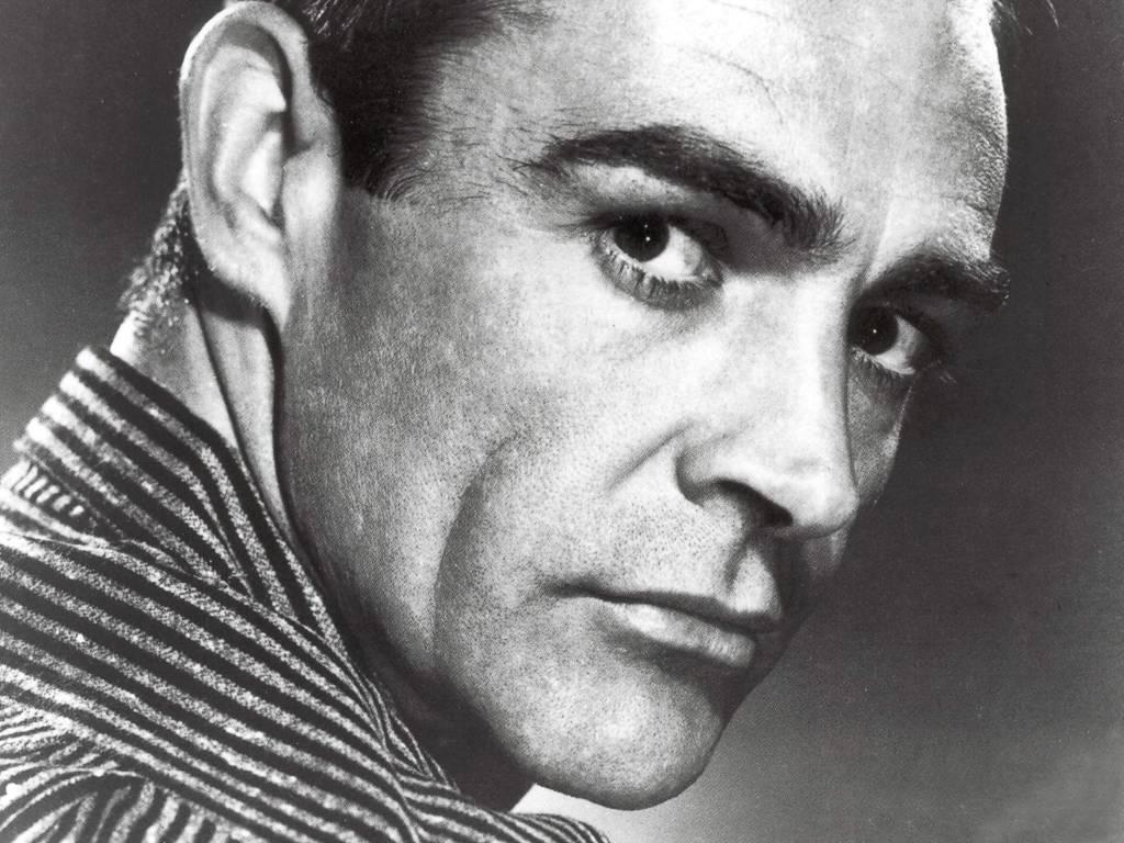 Un wallpaper di Sean Connery